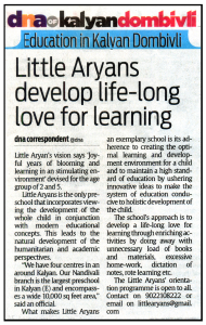 Little Aryans Preschool - DNA Kalyan-Dombivli